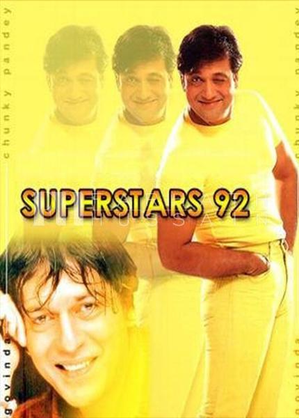 SUPER STAR'92GOVINDACHUNKY PANDEY